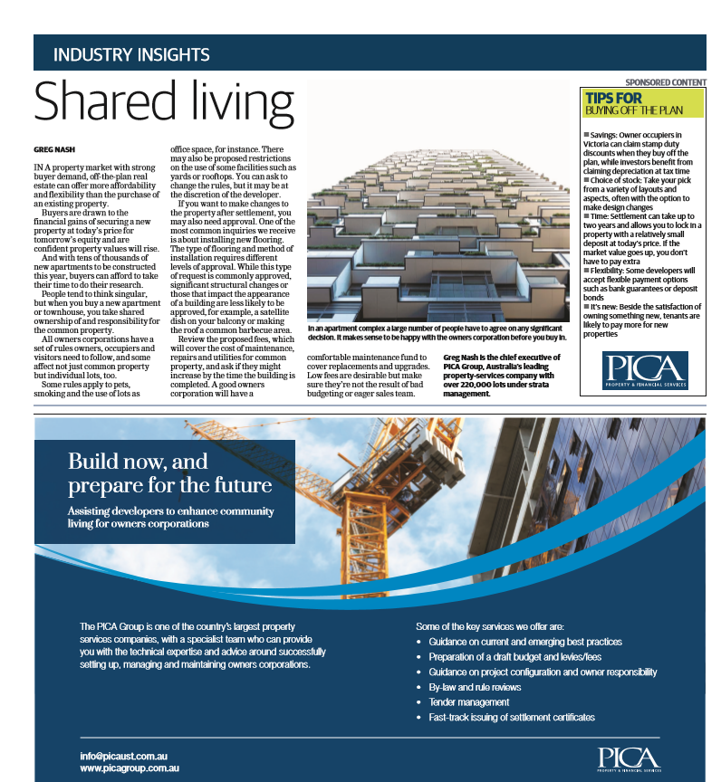Shared living in Leader Newspapers