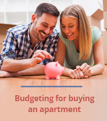 Budgeting for buying an apartment