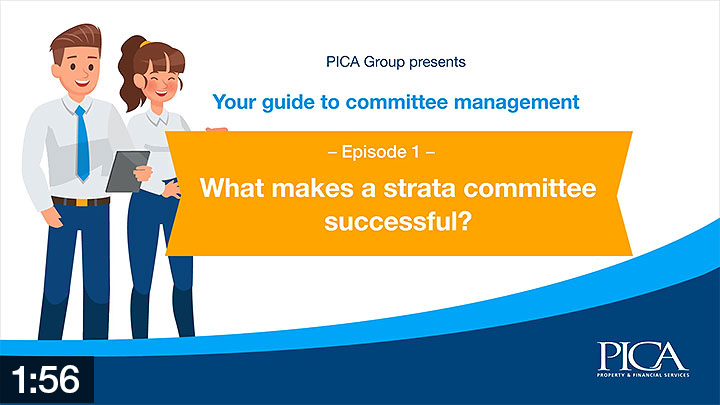 StrataFAQ education videos - What makes a strata committee successful?