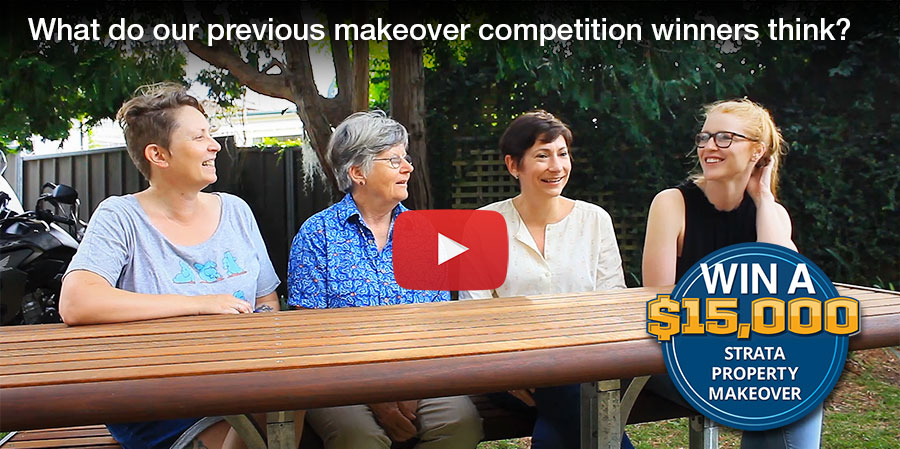 Meet our strata property makeover competition winners from 2019 video