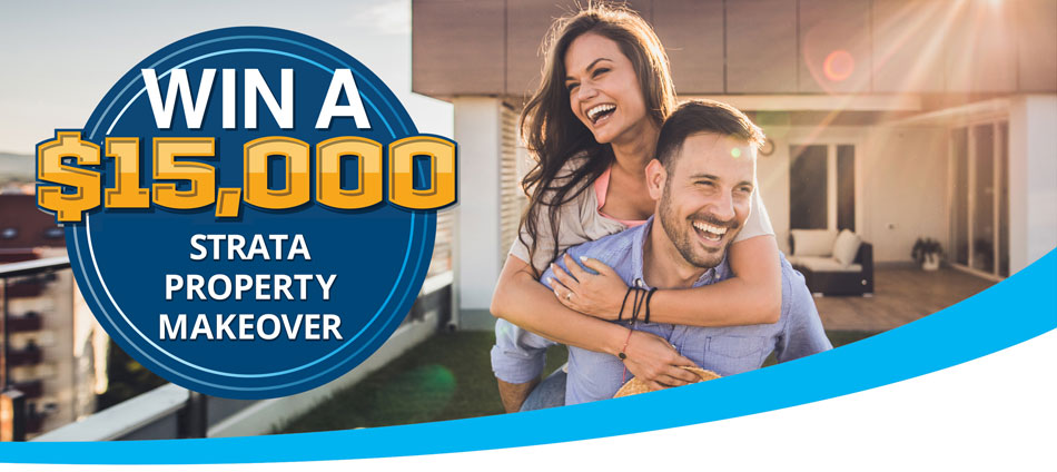 Win a $15,000 strata makeover competition-header