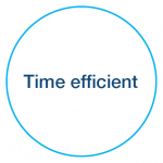 Time efficient debt recovery icon