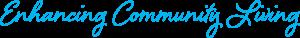 Enhancing community living logo