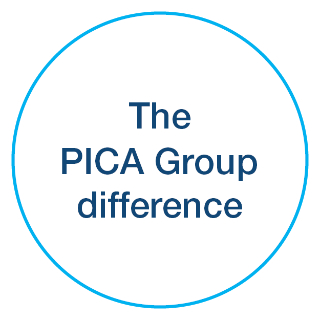 PICA Group difference