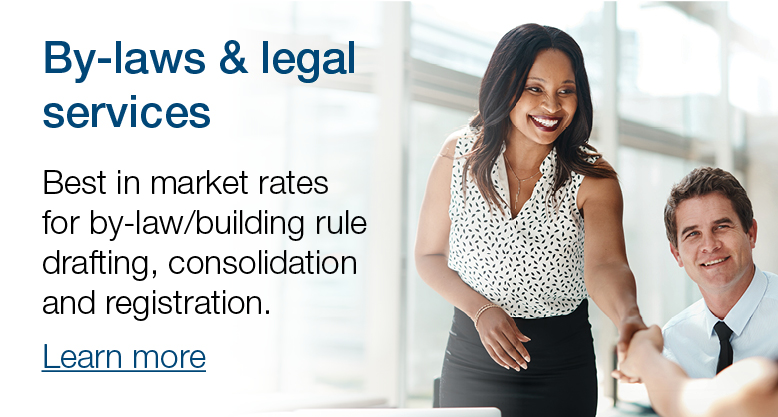 By-laws and legal services banner