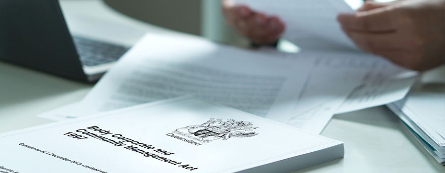 2021 Amendments to BCCM Act 1997 Article header image QLD
