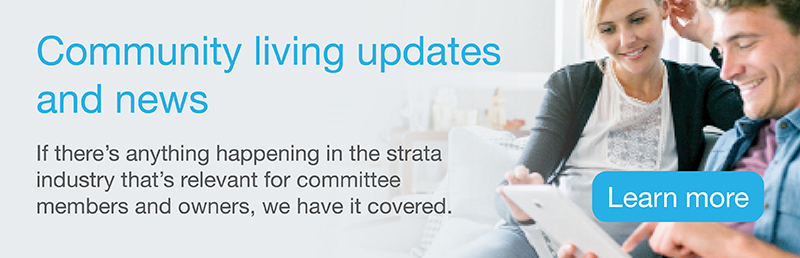 Strata news and updates newsletter sign up