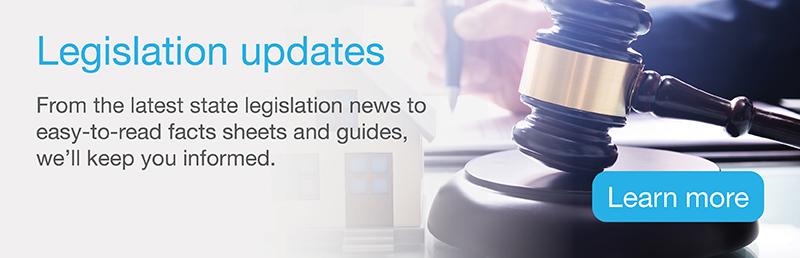 Legislation updates
