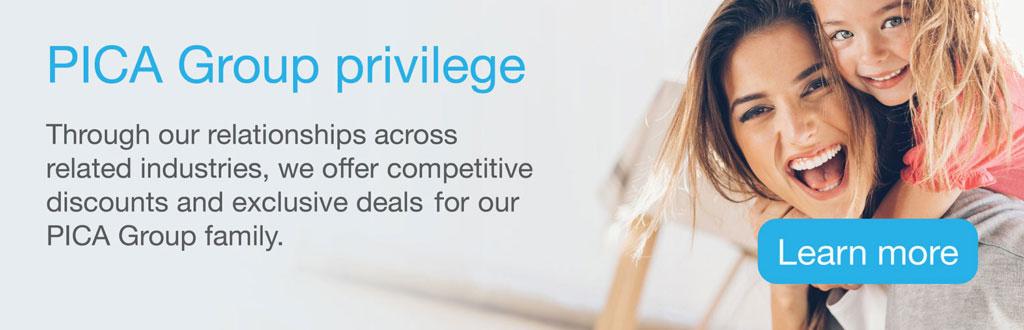 PICA Group Privilege