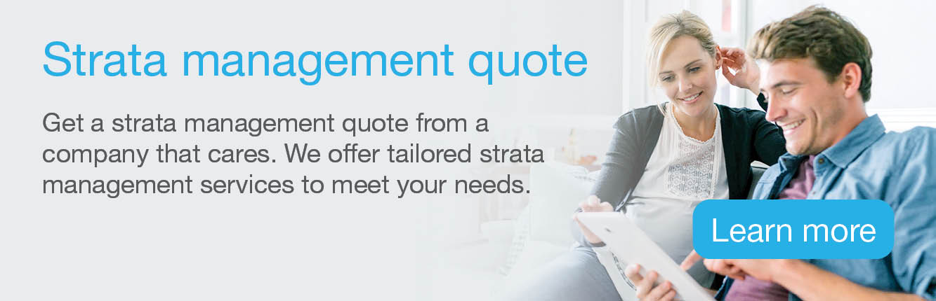 Get a strata management quote