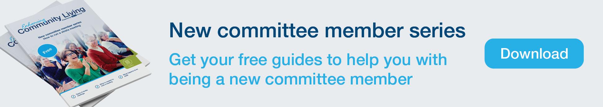 New committee member series