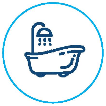 Shower condensation icon