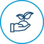 Environmentally conscious icon