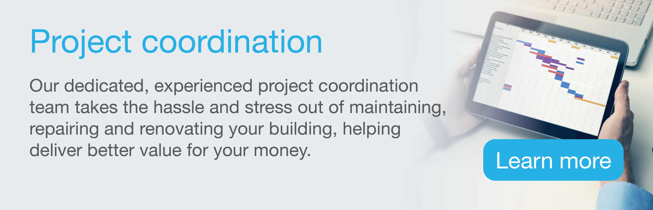 Building Facilities Management Solutions Project coordination