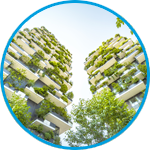 Supporting sustainability and energy savings category icon