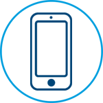 Enhanced Community Living campaign Online service hub icon